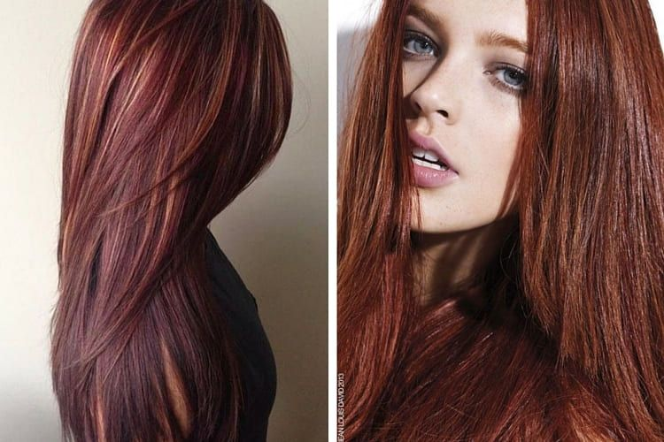Couleur de cheveux chatain chocolat