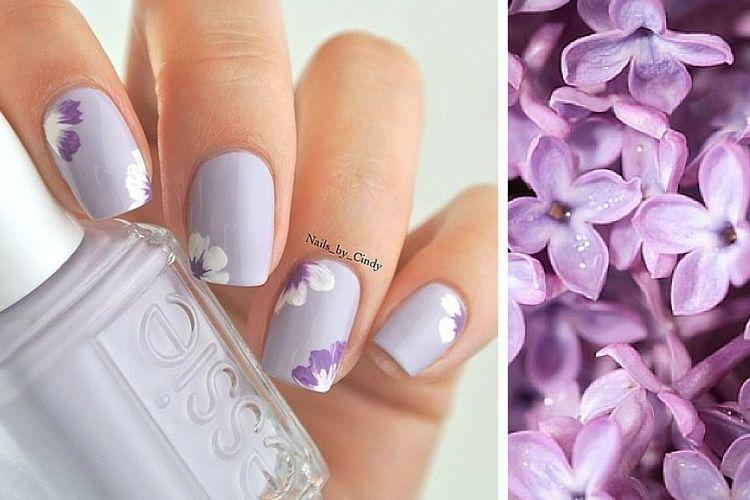 Comment porter le vernis lilas?