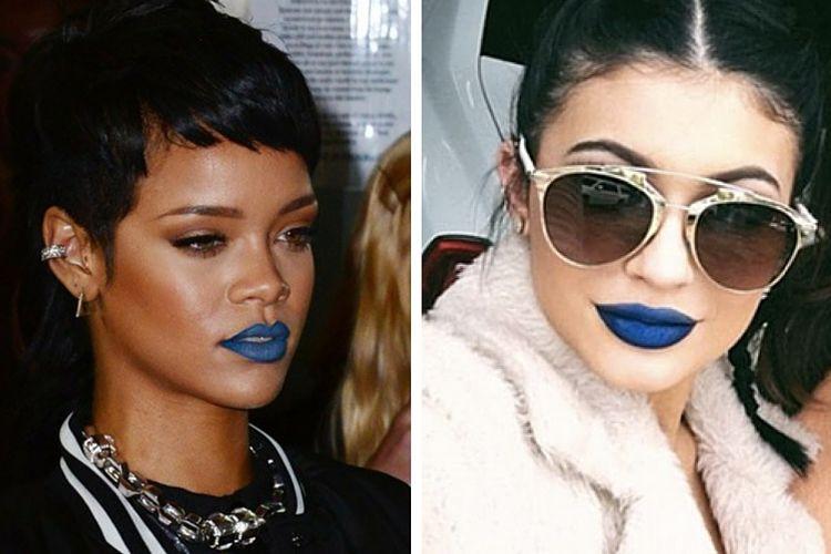 Comment porter le rouge à lèvres bleu ?
