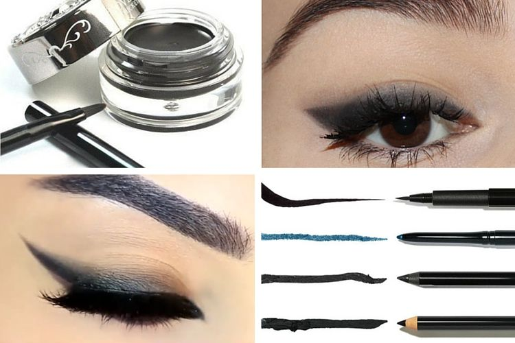 Comment se réaliser un trait d'eye liner estompé