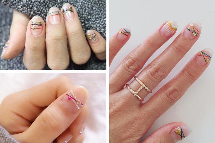 la manucure Bracelets nails