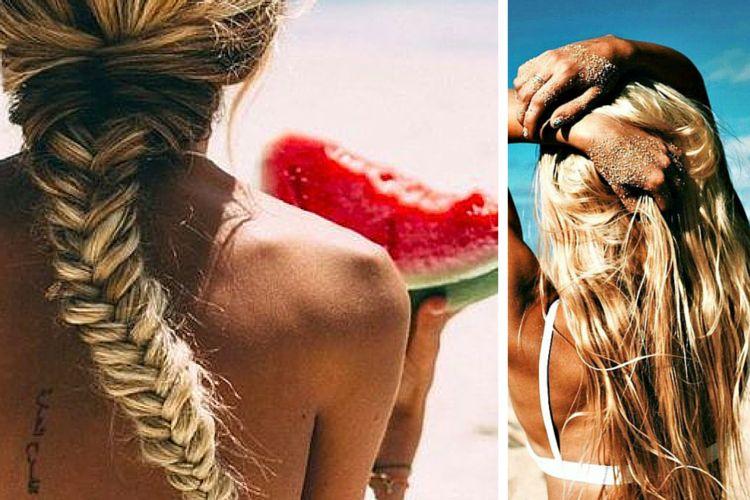 Quelle coiffure pour la plage ?