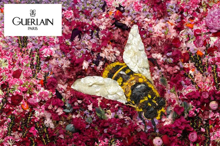 L'exposition Matières de la Maison Guerlain à découvrir