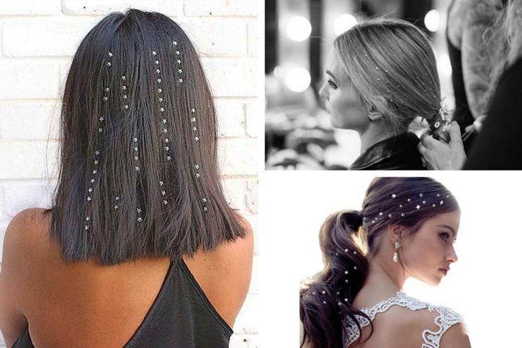 Craquerez-vous pour la nouvelle tendance Hair Gems ?