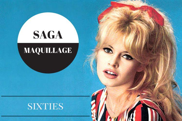 La saga du maquillage : les années 60