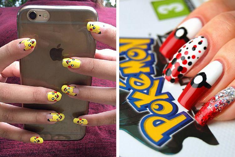 10 idées de nail art Pokemon Go