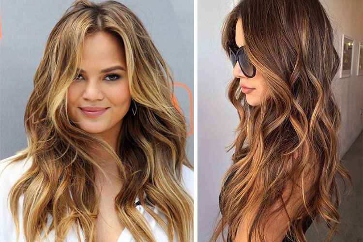 Coloration bronde entre brune et blonde - Quelle couleur faire sur des meches blondes ...