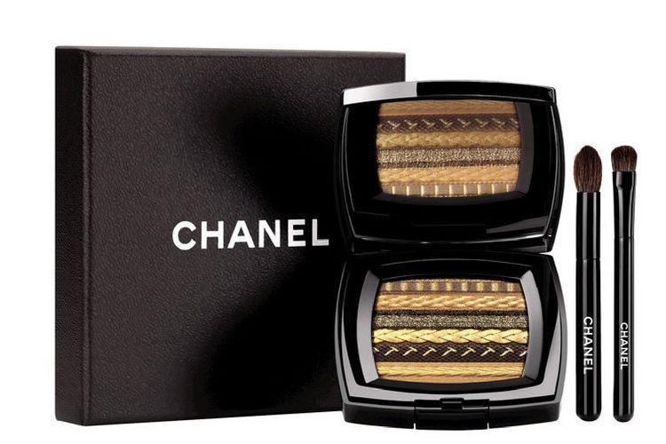 Ombres Lamées de Chanel : une palette de maquillage tendance