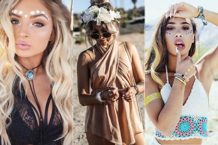 Coachella : les plus beaux looks beauté
