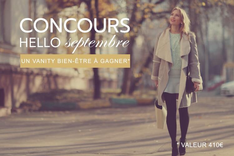 Concours : Votre Vanity Hello Septembre