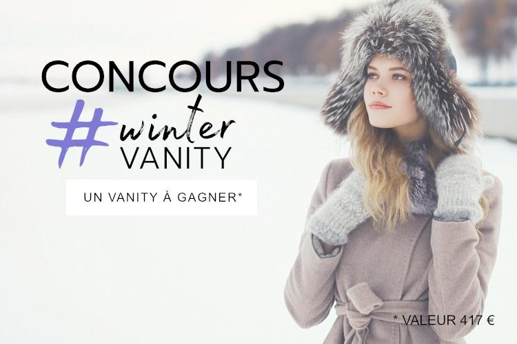 Concours : Un Vanity spécial hiver à gagner !