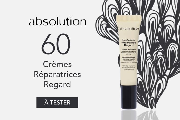 60 Crèmes Réparatrices Regard d'Absolution à tester
