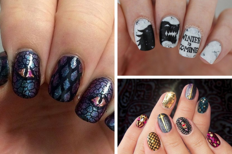 Comment réaliser un nail art Game Of Thrones ?