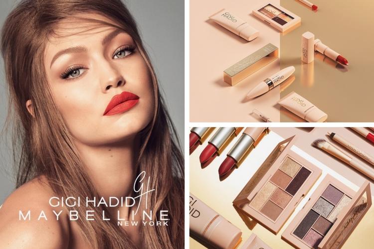 Gigi Hadid lance sa marque de maquillage