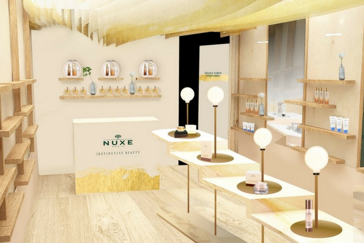 Nuxe ouvre un pop-up store au coeur de Paris !