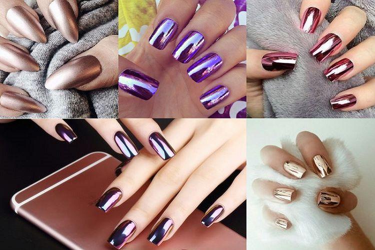Chrome nails : la tendance des ongles chromés