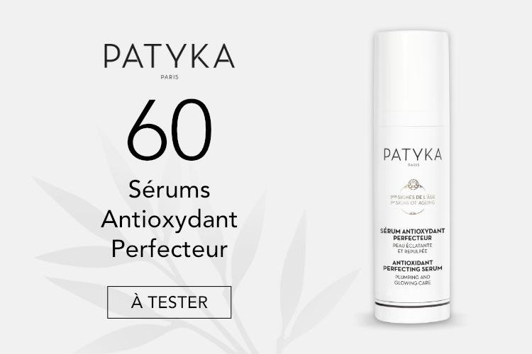 60 Sérums Antioxydant Perfecteur de Patyka à tester