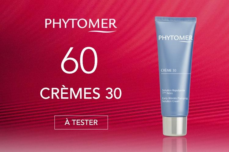60 Crèmes 30 de Phytomer à tester