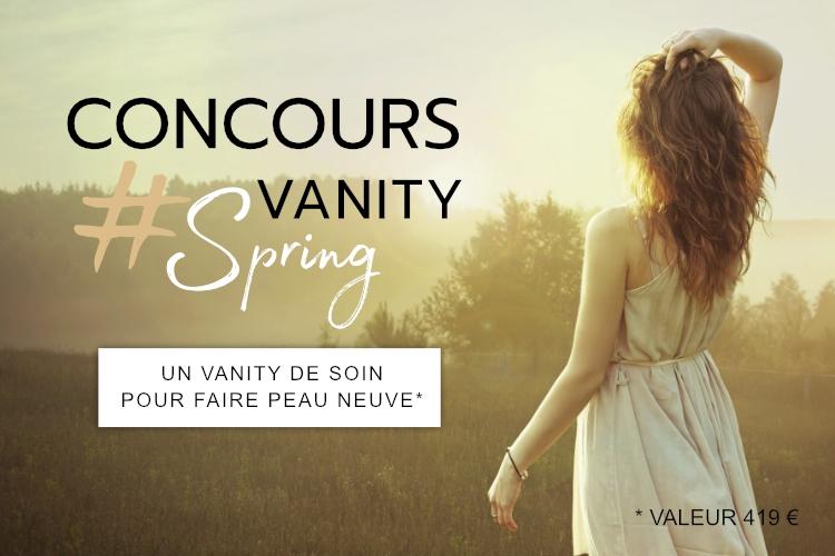Concours : Votre Vanity Spring à gagner !