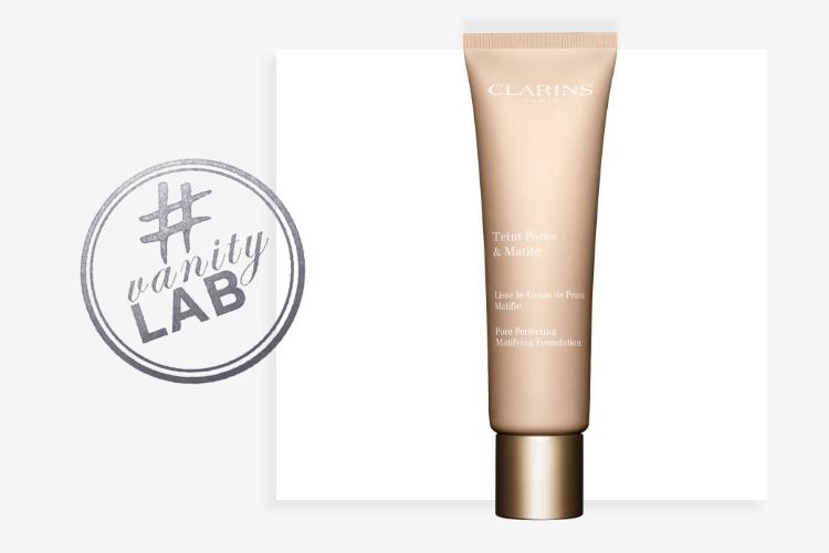 #VanityLab : Aurore a testé le Fond de Teint Pores et Matité de Clarins