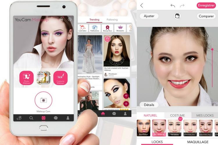 YouCam Makeup : 5 looks à tester sur votre smartphone