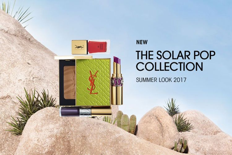 Solar Pop : la collection maquillage Yves Saint-Laurent pour l'été 2017