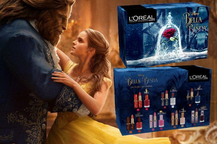 L'Oréal lance une collection de maquillage la Belle et la Bête