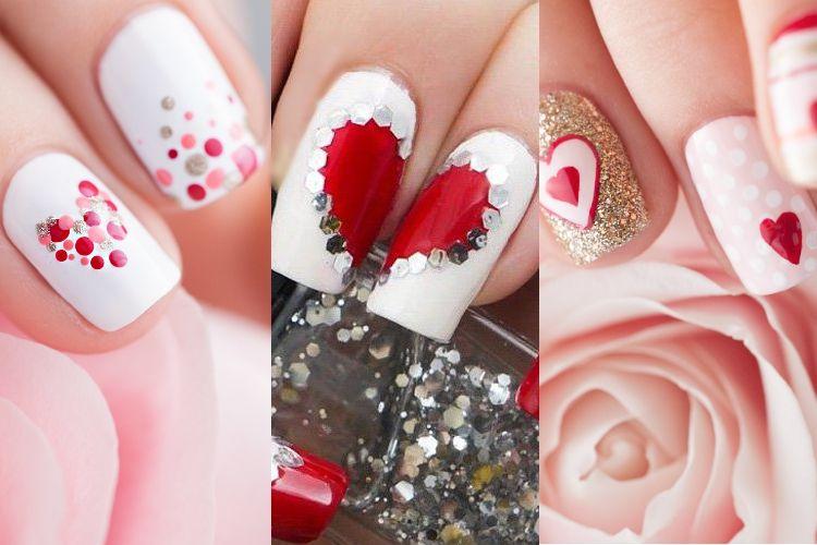 Les plus jolis nail art pour la Saint-Valentin