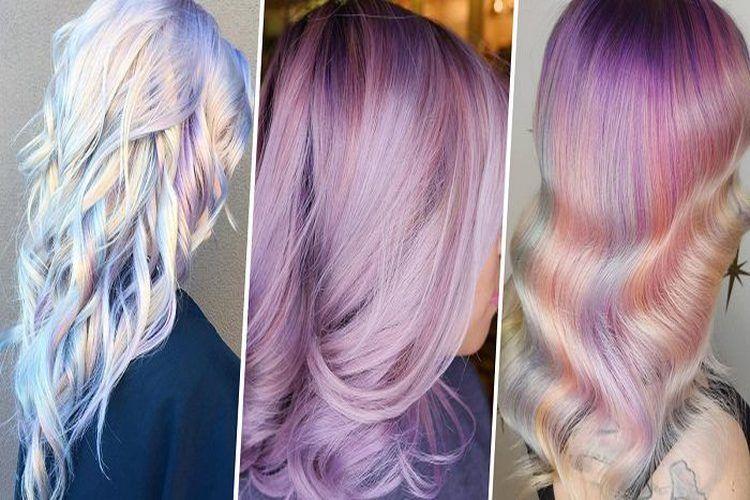 Les cheveux holographiques, la nouvelle tendance capillaire