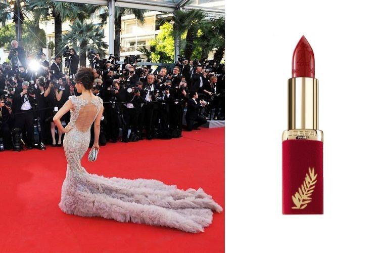 L'Oréal lance un rouge à lèvres iconique pour le Festival de Cannes