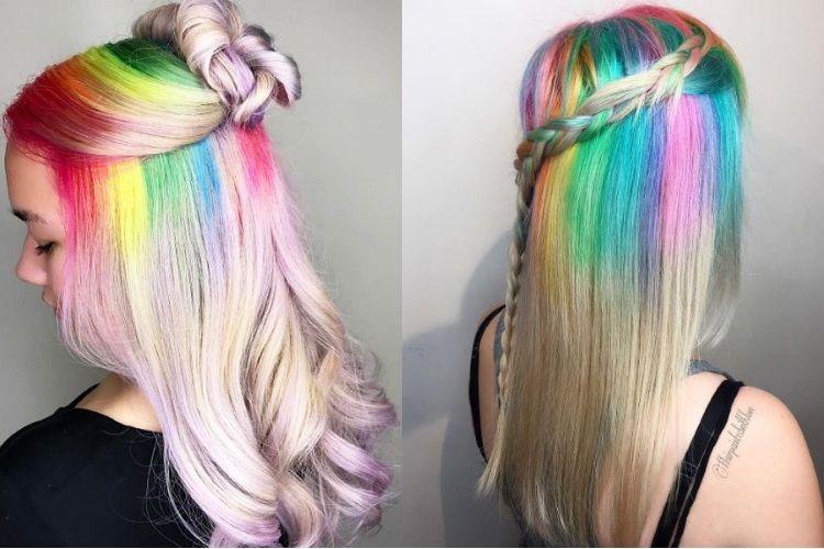 Insolite : Rainbow Roots, la tendance coloration déjantée