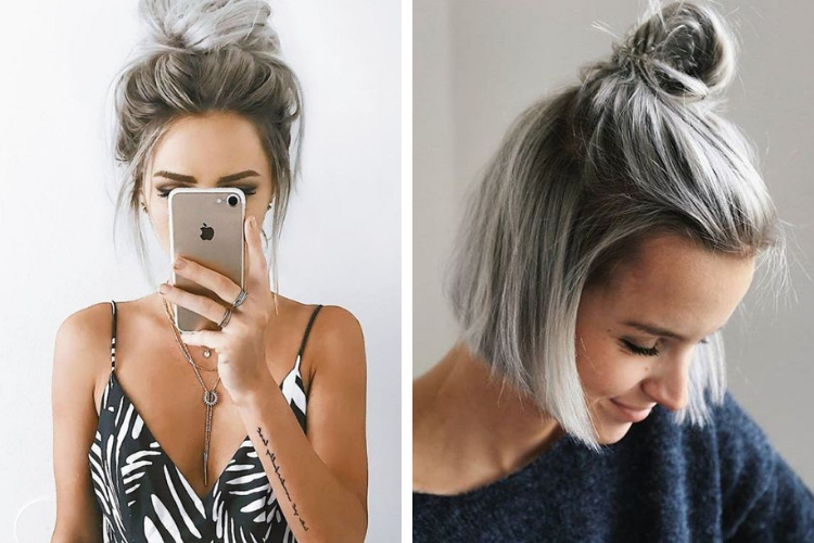 Cheveux silver: on ose la coloration grise !