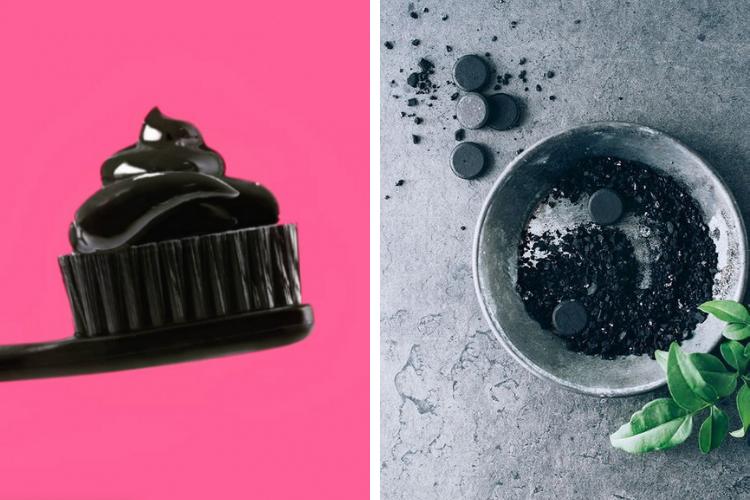 Dents plus blanches : les bienfaits du dentifrice au charbon