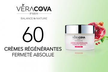 60 Crèmes Régénérantes Fermeté Absolue VERACOVA à tester