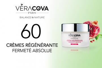 60 Crèmes Régénérante Fermeté Absolue VERACOVA à tester
