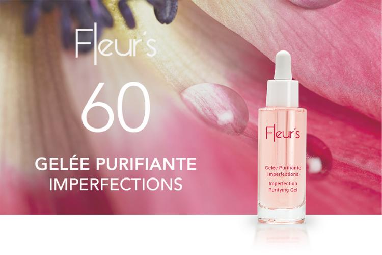 60 Gelée Purifiante Imperfections de Fleur's à tester