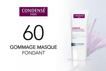 60 GOMMAGE MASQUE FONDANT de Condensé Paris à tester