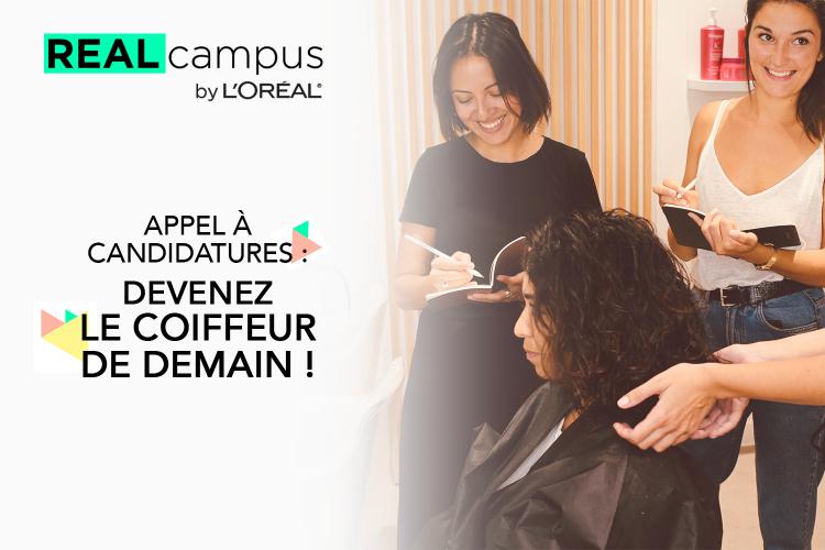 Devenez le coiffeur de demain avec le Real Campus by L'Oréal