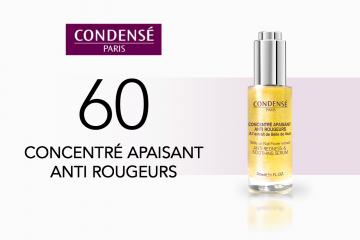 60 Concentré Apaisant Anti Rougeurs Condensé Paris à tester