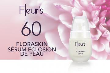 60 FLORASKIN Sérum Éclosion de Peau de Fleur's à tester