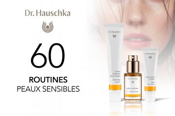 60 routines Peaux Sensibles de Dr. Hauschka à tester