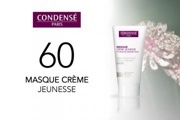 60 Masque Crème Jeunesse de Condensé Paris à tester