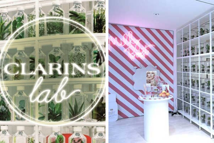 Clarins Lab : Zoom sur la boutique beauté de demain