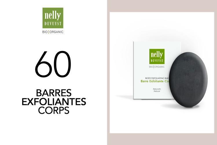 60 Barres Exfoliantes Bio|Organic de Nelly de Vuyst à tester