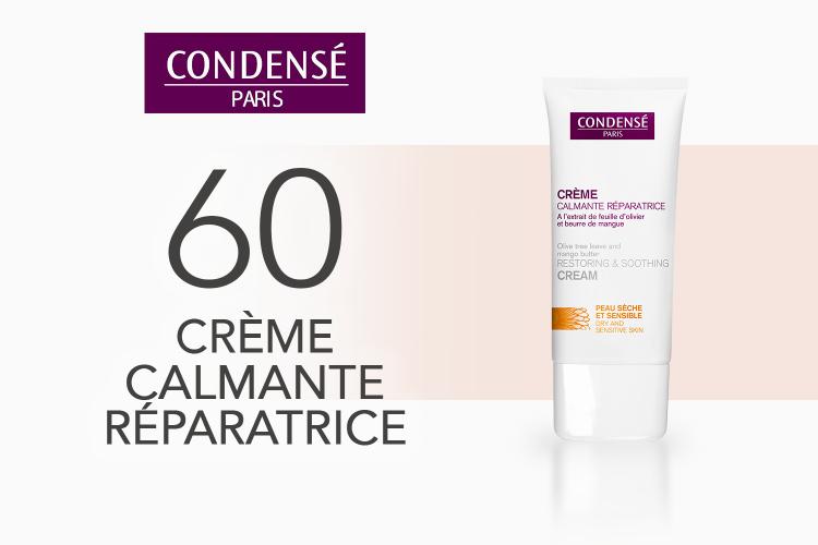 60 Crème Calmante Réparatrice de Condensé Paris à tester