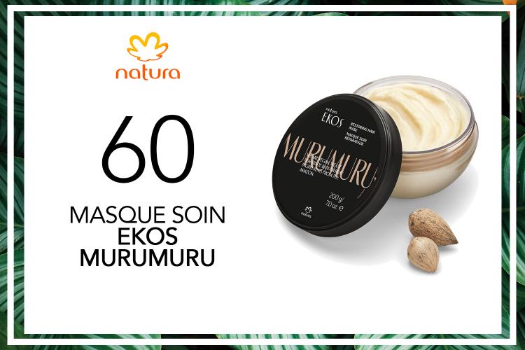 60 Masque soin Ekos Murumuru de Natura à tester