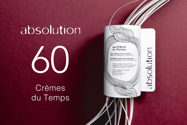 60 Crèmes du Temps d'Absolution à tester