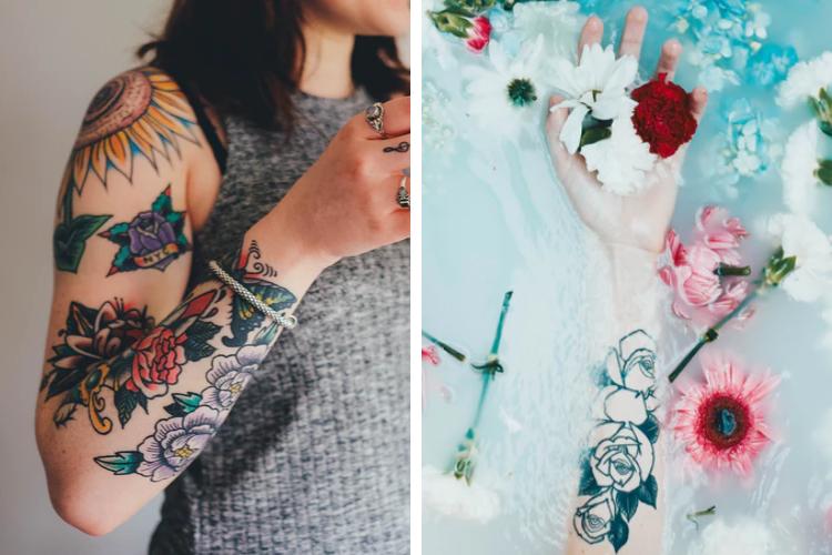 Prendre soin de son tatouage grâce aux soins naturels