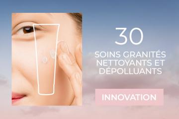 30 nettoyants exfoliants Granité PM 2.5 à tester