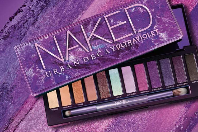 Urban Decay sublime le violet avec sa dernière palette Naked Ultraviolet